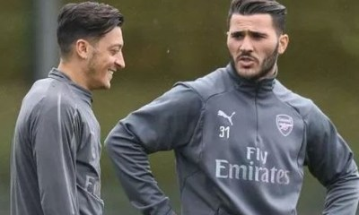 Police arrest two men for attacking Arsenal footballers Ozil and Kolasinac