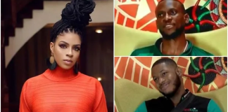 BBNaija 2019: Venita complains as Frodd and Omashola compete for her