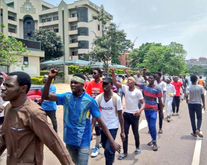Shiite members ignore proscription, stage protest in Abuja