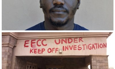 EFCC arrests Fidelity Bank employee for allegedly stealing N137M