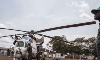 UN peacekeeping helicopter crashes in Central African Republic