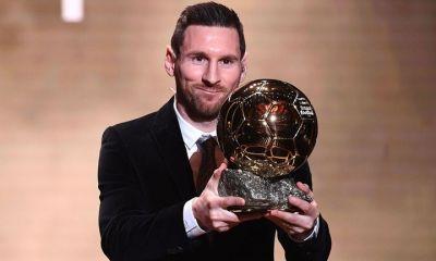 Lionel Messi wins 2019 Ballon d'Or