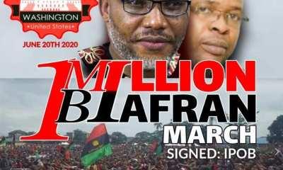 Nnamdi Kanu to lead 1million man march in Washington USA