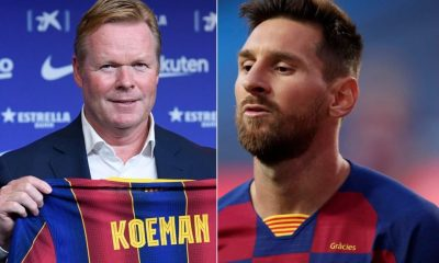 Details of Koeman's chat with Messi