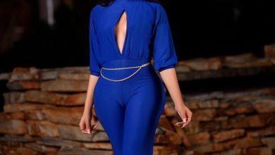 Nengi flaunts her camel toe In blue dress (Photo)