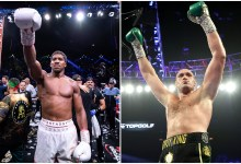 Anthony Joshua and Tyson Fury to fight in a 'specially-built stadium