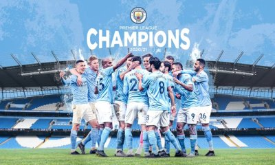 Manchester City confirmed as Premier League champions