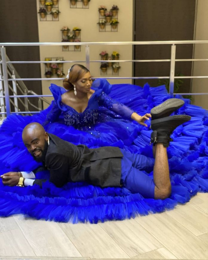 Chief Imo and his wife celebrate 10th wedding anniversary