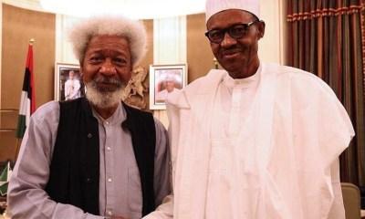 Buhari should stop exuding a false confidence - Wole Soyinka