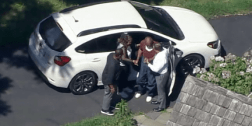 Video shows Bill Cosby arriving home from prison after sex conviction