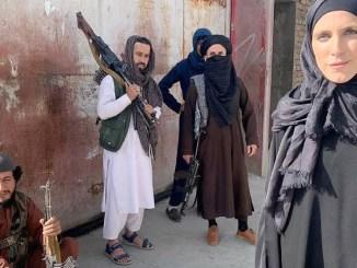 Video of Taliban threatening CNN reporter Clarissa Ward and her crew