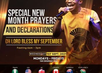 Watch NSPPD Live 1 September 2021 with Pastor Jerry Eze
