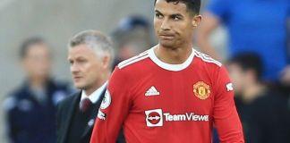 Cristiano Ronaldo top five footballers in history