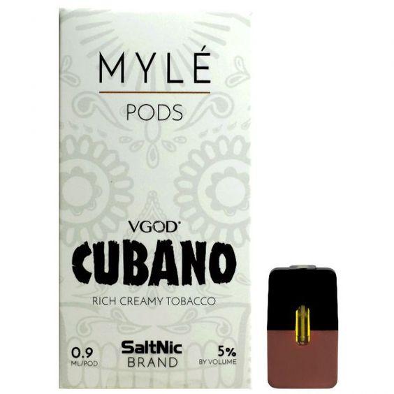 Cubano Vape Pods by MYLÉ