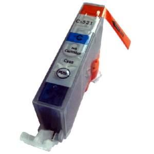 CLi521 za Canon kompaktibilna titna (cyan)