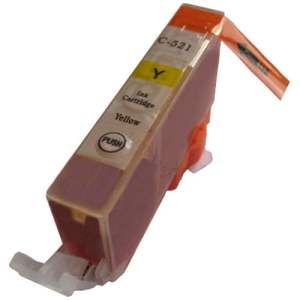 CLI521 za Canon kompaktibilna tinta (žuta)