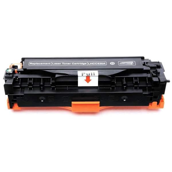 CC530A za HP, Canon kompaktibilan toner (crna)