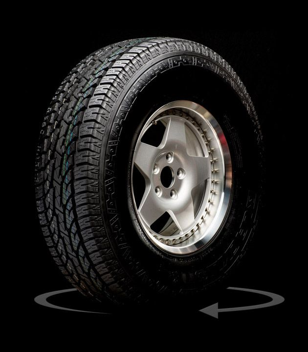 Tire 360 Degree Product Photography