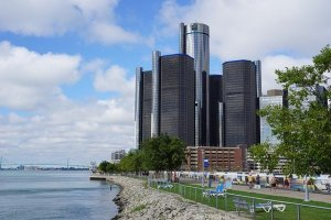 view of Detroit at daytime