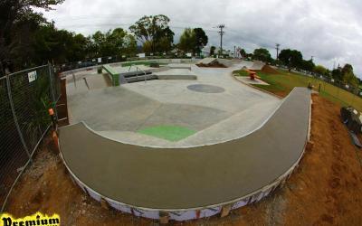 Collins Reserve Skate Park Completed
