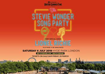 Stevie Wonder, The Mersey Beatles, BBC Summer Social…