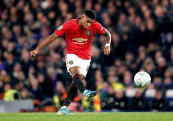 United's Rashford draws Ronaldo comparisons with winning shot against Chelsea