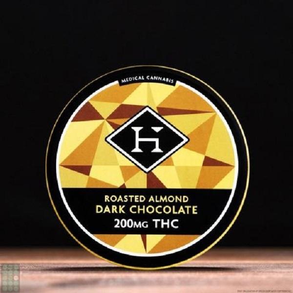 Almond Chocolate Bar Hybrid 200mg