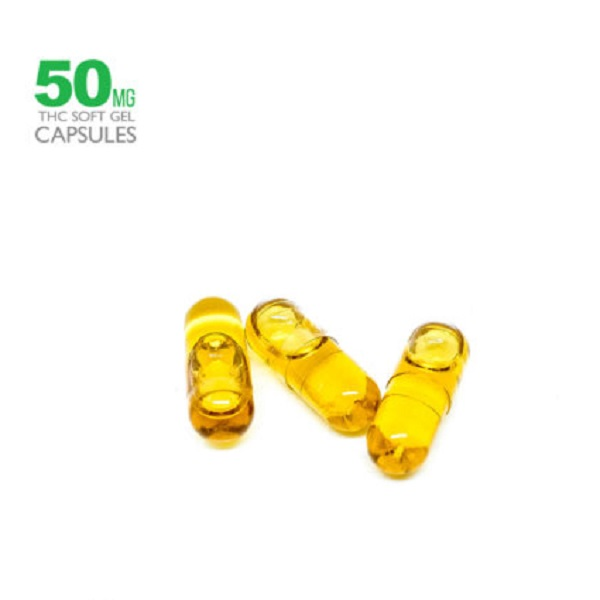 50mg THC Hemp Seed Oil Capsules