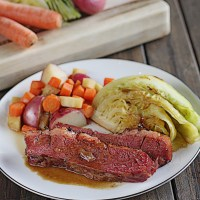Corned Beef & Cabbage the Easy Way