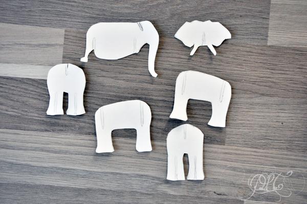 Prendre le temps - Voyageons Ludique - Asie - Éléphant en carton 02