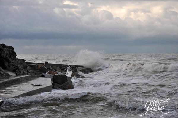 Prendre le temps - Voyage à Granville (Normandie) - Plage de Saint-Pair-sur-Mer - vagues