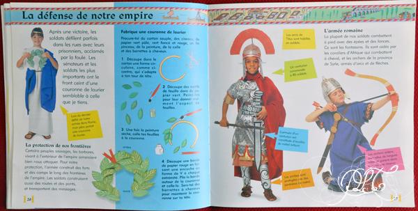 Prendre le temps - Voyageons Ludique - Italie - Livre - La Rome Antique