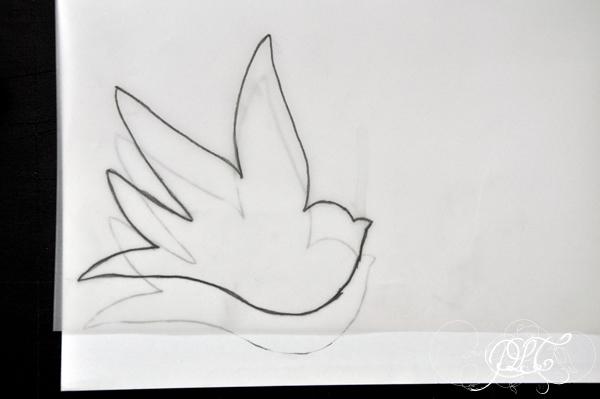 Prendre le temps - Carte d'anniversaire - Oiseau - collage - DIY