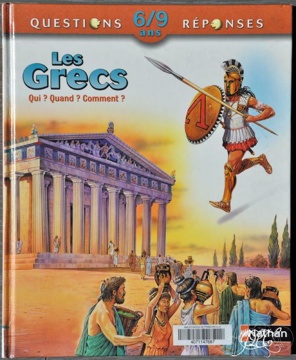 Prendre le temps - Voyageons Ludique - Grèce - Livres - Les Grecs