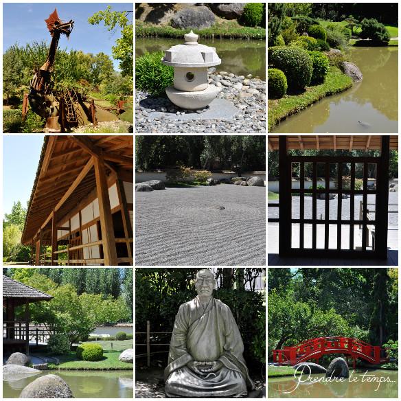 Prendre le temps - Cartes Postales 07 - Toulouse - Jardin Japonais Compans Cafarelli - voyage