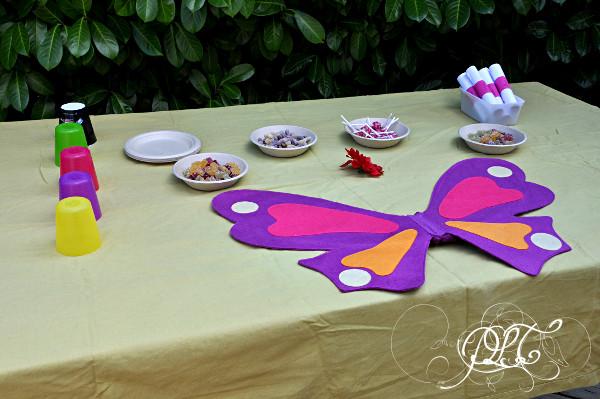 Prendre le temps - Anniversaire Titechérie - sweet table (ou presque)