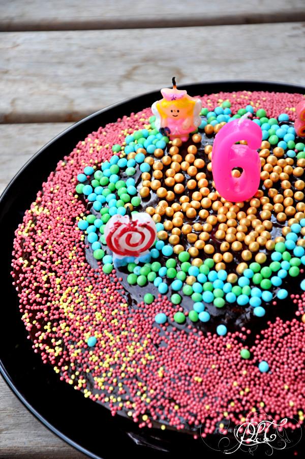 Prendre le temps - Anniversaire Titechérie - gâteau vega