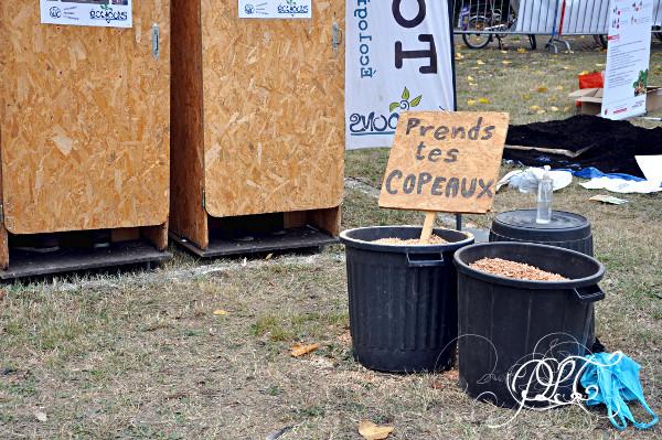 Prendre le temps - Foire Biô Garonne - Toulouse - toilettes sèches
