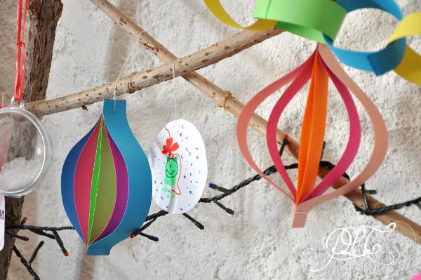 Prendre le temps - Boule de Noël - DIY - décoration de Noël
