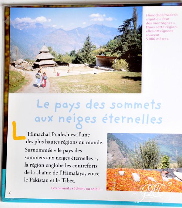 Prendre le temps - Voyageons ludique - lecture - Asha, enfant d'Himalaya