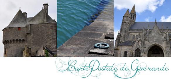 Prendre le temps - Cartes Postales - Guérande - Loire-Atlantique - Bretagne