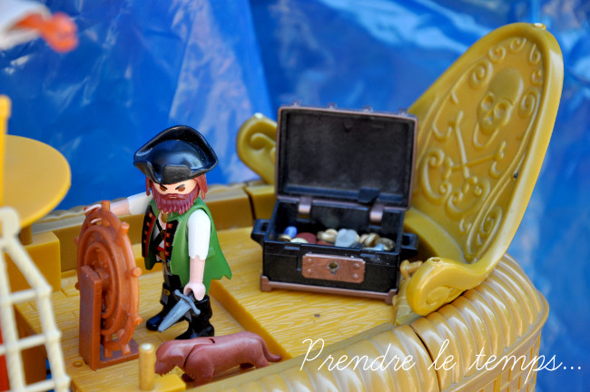 Prendre le temps - Anniversaire Pirate - le goûter