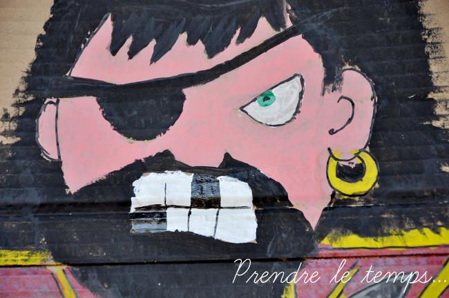 Prendre le temps - Anniversaire Pirate - Barbe Noire