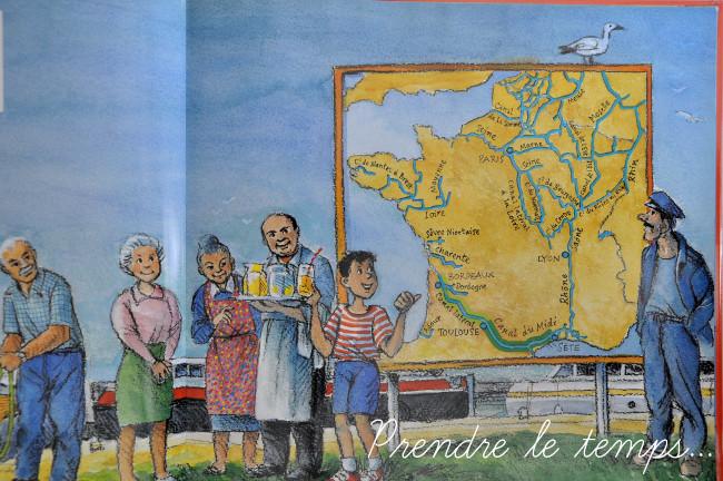 Voyageons Ludique - Patrimoine Mondial - livre - Julot sur le Canal du Midi