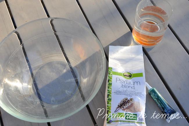 Prendre le temps - Slime végétal et comestible