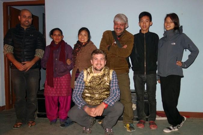 Bishnu, ses amis et moi !