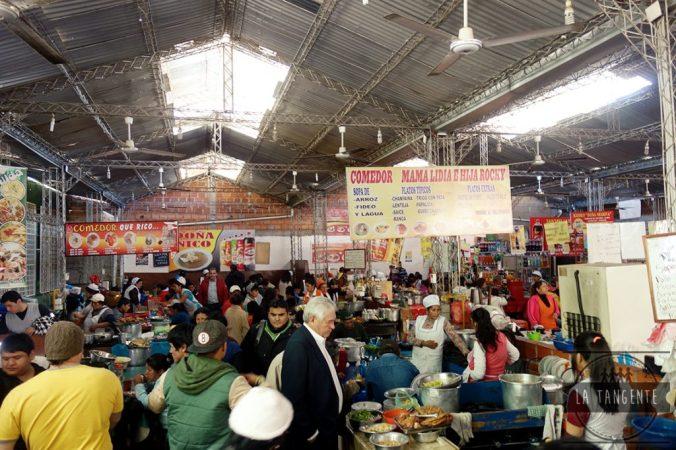 Cantine au marché central