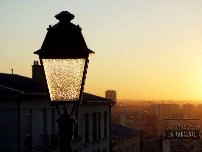 Lever de soleil à Montmartre