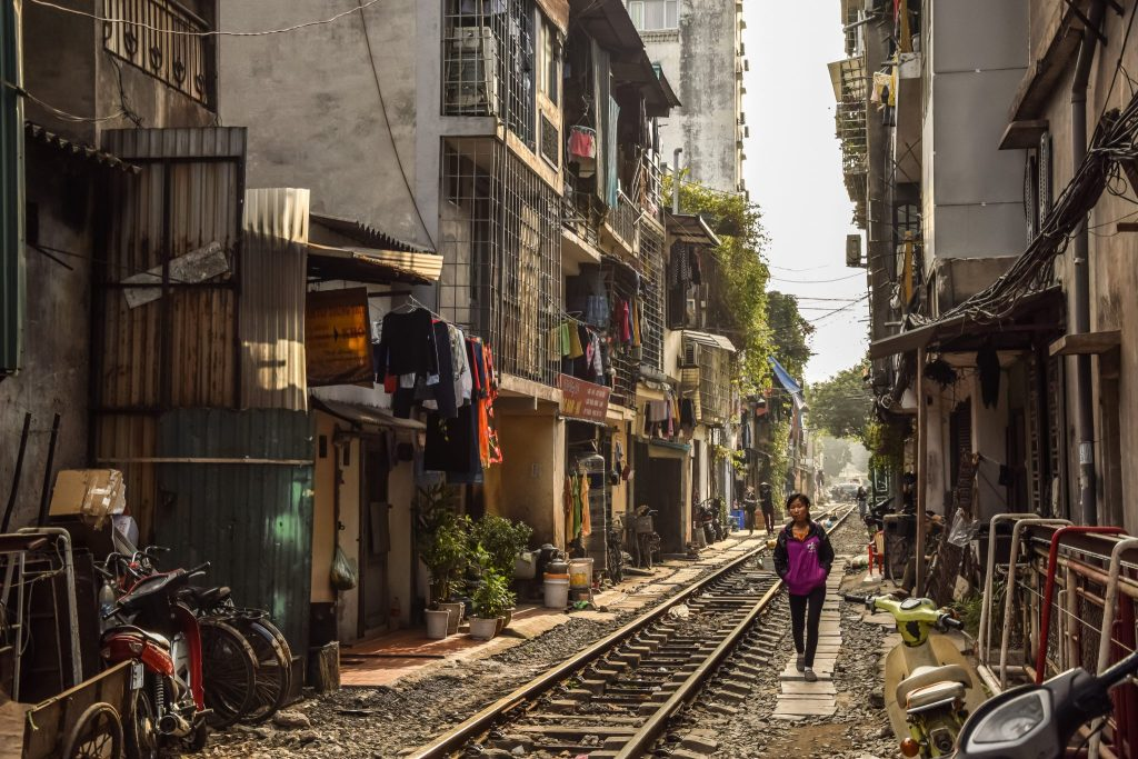 rue du train hanoi