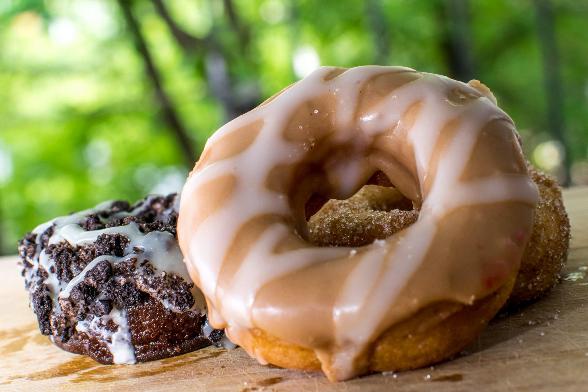 donut gros plan